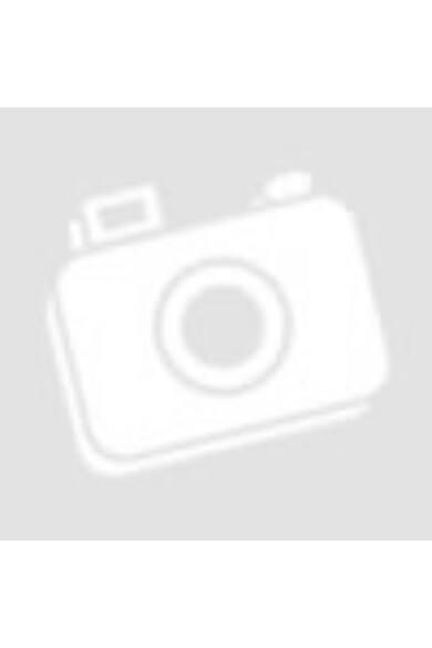 Wood Show 1299 fa hatású, digitális LED ébresztőóra, fehér, négyszögletes, piros kijelzővel